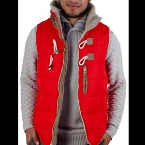 Other - Men's Red Puffer Vest
